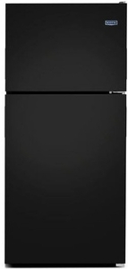 "MRT311FFFE 33"" Maytag Top Freezer Refrigerator with Power Cold and BrightSeries LED Lighting  - Black"
