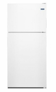 "MRT311FFFH 33"" Maytag Top Freezer Refrigerator with Power Cold and BrightSeries LED Lighting  - White"