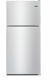 """MRT311FFFZ 33"""" Maytag Top Freezer Refrigerator with Power Cold and BrightSeries LED Lighting - Fingerprint Resistant Stainless Steel"""