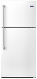 MRT519SZDH Maytag 19.1 Cu. Ft. Tope Freezer Refrigerator with EvenAir Cooling Tower - White