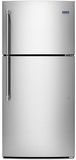 MRT519SZDM Maytag 19.1 Cu. Ft. Tope Freezer Refrigerator with EvenAir Cooling Tower - Stainless Steel