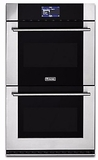 "MVDOE630SS Viking 30"" Virtuoso Professional 6 Series Double 8.3 cu. ft. Thermal Convection Oven with TruConvec and Self-Clean- Stainless Steel"