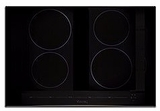 "MVIC6304B Viking 30"" Virtuoso Professional 6 Series 30"" Built-In All Induction Electric Cooktop with MagneQuick Induction and 4 Elements - Black Glass"