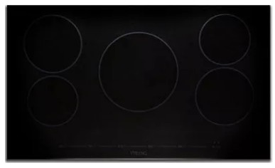 "MVIC6365BBG Viking 36"" Virtuoso Professional 6 Series Built-In All Induction Electric Cooktop with MagneQuick Induction and 5 Elements - Black Glass"