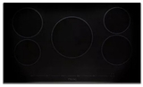 "MVIC6365B Viking 30"" Virtuoso Professional 6 Series Built-In All Induction Electric Cooktop with MagneQuick Induction and 5 Elements - Black Glass"