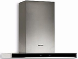 """MVLWH636SS Viking 30"""" Virtuoso 6 Series Built-In Wall Hood with 600 CFM and Electronic Touch Controls - Stainless Steel"""