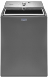 "MVW765FC Maytag 28"" 4.7 cu. ft. High-Efficiency Top Load Washer with PowerWash Cycle and 11 Wash Cycles - Metallic Slate"