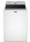 "MVWB765FW 28"" Maytag 4.7 Cu. Ft. Top Load Washer with Deep Fill Options and 900 RPM - White"