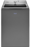 "MVWB865GC Maytag 28"" 5.2 cu. ft. Top Load Washer with Deep Fill Option and PowerWash Agitator - Metallic Slate"
