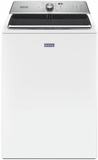"MVWB865GW Maytag 28"" 5.2 cu. ft. Top Load Washer with Deep Fill Option and PowerWash Agitator  - White"