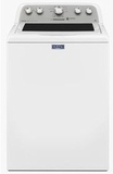 MVWX655DW Maytag Bravos 4.3 Cu. Ft. Top Load Washer with Exclusive Smooth Glide Drawer - White