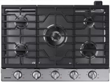 "NA30K6550TS Samsung 30"" Gas Cooktop with 5 Sealed Burners and Griddle - Stainless Steel"