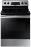 "NE59M4310SS Samsung 30"" 5.9 cu. ft. Freestanding Electric Range with Flexible Cooktop and Storage Drawer - Stainless Steel"