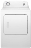 "NED4655EW Amana 29"" 6.5 cu. ft. Electric Dryer with Automatic Dryness Control and  a Wrinkle Prevent Option - White"