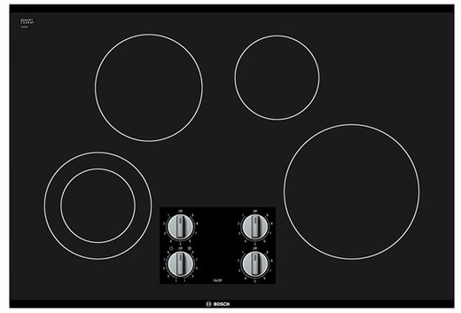 "NEM5066UC Bosch 30"" Electric Cooktop 500 Series - Black"