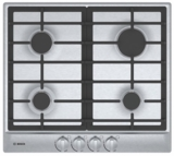 """NGM5455UC Bosch 24"""" Gas Cooktop with 4 Sealed Burners - Stainless Steel"""