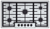 """NGM5655UC Bosch 36"""" Gas Cooktop 500 Series - Stainless Steel"""