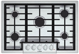 """NGM8055UC Bosch 31"""" Gas Cooktop 800 Series - Stainless Steel"""