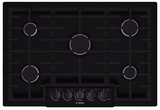 "NGM8065UC Bosch 31"" Gas Cooktop 800 Series - Black"