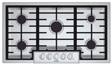 """NGM8655UC Bosch 36"""" Gas Cooktop 800 Series - Stainless Steel"""