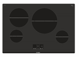 "NIT5068UC Bosch 30"" 500 Series Induction Cooktop with SpeedBoost and Child Lock - Black"