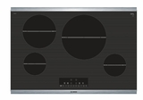 "NIT8068SUC Bosch 30"" 800 Series Induction Cooktop with SpeedBoost and AutoChef Technology - Black"