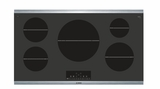 "NIT8668SUC Bosch 36"" 800 Series Induction Cooktop with SpeedBoost and AutoChef Technology - Black"