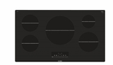 "NIT8668UC Bosch 36"" 800 Series Induction Cooktop with SpeedBoost and AutoChef Technology - Black"