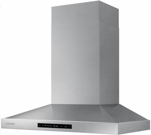 """NK30K7000WS Samsung 30"""" Wall Mount Chimney Hood With 600 CFM and LED Cooktop Lighting - Stainless Steel"""