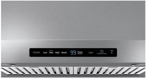 "NK30N7000US Samsung 30"" Range Hood With 600 CFM and Digital Touch Controls - Stainless Steel"