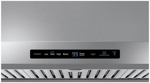 """NK36N7000US Samsung 36"""" Range Hood With 600 CFM and Digital Touch Controls - Stainless Steel"""