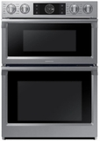 "NQ70M7770DS Samsung 30"" Microwave Combination Wall Oven with Flex Duo - Stainless Steel"