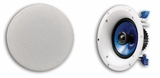 "NSI-C600 Yamaha 6.5"" In-Ceiling Speakers (Pair) with Paintable Grilles - White"