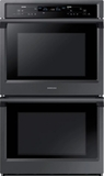 "NV51K6650DG Samsung 30"" Double Wall Oven with Steam Cook and Dual Convection - Black Stainless Steel"