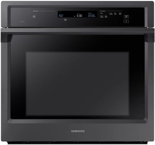 "NV51K6650SG Samsung 30"" Single Wall Oven with Steam Cook and Dual Convection - Black Stainless Steel"