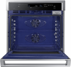 """NV51K6650SS Samsung 30"""" Single Wall Oven with Steam Cook and Dual Convection - Stainless Steel"""