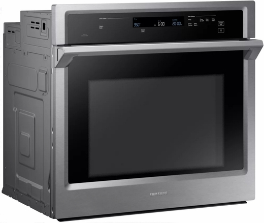 "NV51K6650SS Samsung 30"" Single Wall Oven with Steam Cook and Dual Convection - Stainless Steel"