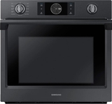 "NV51K7770SG Samsung 30"" Single Wall Oven with Flex Duo - Black Stainless Steel"