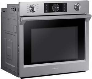 """NV51K7770SS Samsung 30"""" Single Wall Oven with Flex Duo - Stainless Steel"""