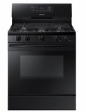 """NX58K3310SB Samsung 30"""" Freestanding Gas Range with 5 Sealed Burners and 5.8 cu. ft. Oven Capacity - Black"""