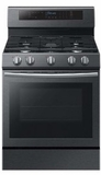 """NX58M6630SG Samsung 30"""" Gas Range with True Convection and Touch Controls - Stainless Steel"""
