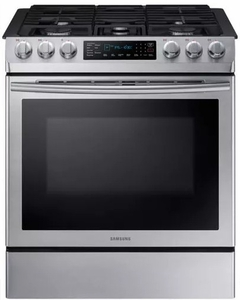 Slide In Gas Range With Warming Center And Griddle