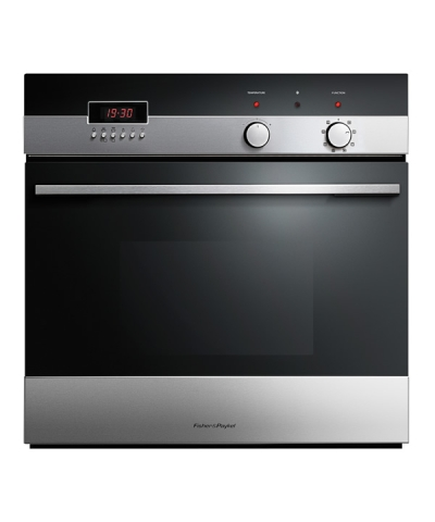 "OB2N4SDPX4 Fisher & Paykel 24"" Built-in Self-Clean Single Oven with Convection - Stainless Steel"