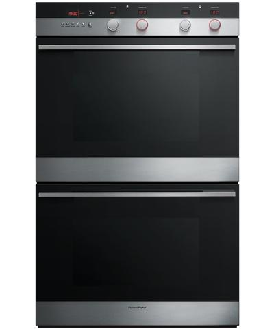 "OB30DDEPX2 Fisher & Paykel 30"" Built-in Self-Clean Double Oven with Convection - Stainless Steel"