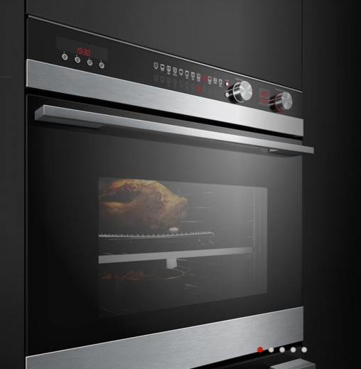"""OB30DDEPX3 Fisher & Paykel 30"""" Double Convection Oven 4.1 Cu Ft Capacity - Stainless Steel"""