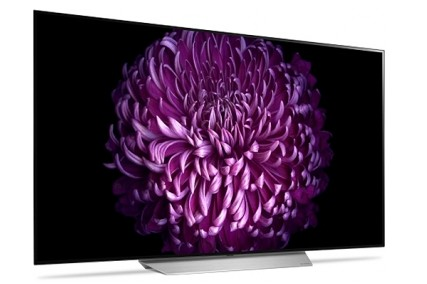"""OLED65C7P LG 65"""" C7 Series 4K HDR OLED Smart TV with webOS 3.5 and Dolby Vision"""