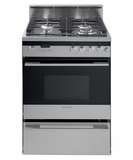 "OR24SDPWGX2 Fisher & Paykel 24"" Dual Fuel Gas Range - Stainless Steel"
