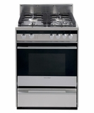 "OR24SDMBGX2N Fisher & Paykel 24"" Gas Range - Stainless Steel"