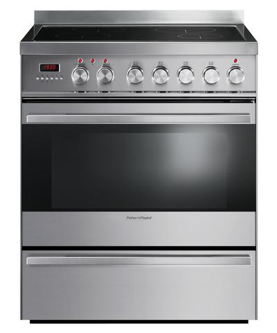 """OR30SDPWIX1 Fisher & Paykel 30"""" Induction Range with 3.6 Cu. Ft. Oven & Ceramic Glass Cooktop - Stainless Steel"""