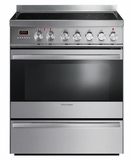 "OR30SDPWIX1 Fisher & Paykel 30"" Induction Range with 3.6 Cu. Ft. Oven & Ceramic Glass Cooktop - Stainless Steel"